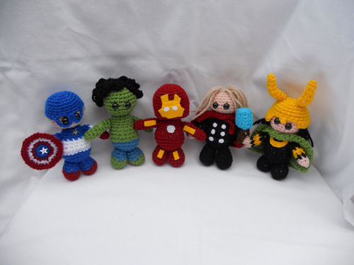 Free Amigurumi Superhero Patterns : GeekNation 20 Spectacular Superhero Amigurumi