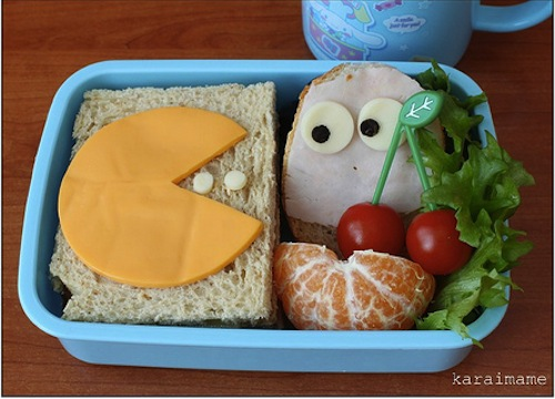 PAC-MAN bento box